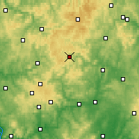 Nearby Forecast Locations - Stünzel - Carte