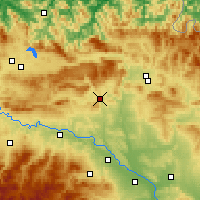 Nearby Forecast Locations - Estella-Lizarra - Carte