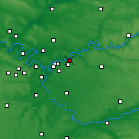 Nearby Forecast Locations - Lagny-sur-Marne - Carte