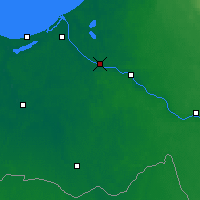 Nearby Forecast Locations - Salaspils - Carte