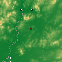 Nearby Forecast Locations - Luchegorsk - Carte