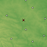 Nearby Forecast Locations - Kalynivka - Carte