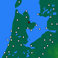 Nearby Forecast Locations - Medemblik - Carte