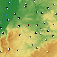Nearby Forecast Locations - Vaihingen-sur-l'Enz - Carte