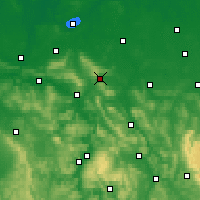 Nearby Forecast Locations - Springe - Carte