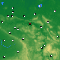 Nearby Forecast Locations - Rinteln - Carte