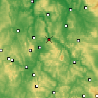 Nearby Forecast Locations - Hann. Münden - Carte
