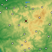 Nearby Forecast Locations - Lennestadt - Carte