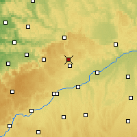 Nearby Forecast Locations - Heidenheim an der Brenz - Carte