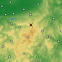 Nearby Forecast Locations - Brilon - Carte