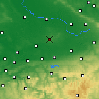 Nearby Forecast Locations - Beckum - Carte