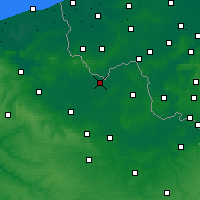 Nearby Forecast Locations - Armentières - Carte