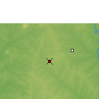 Nearby Forecast Locations - Kokologo - Carte