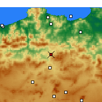 Nearby Forecast Locations - Didouche Mourad - Carte