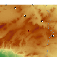 Nearby Forecast Locations - Cheria - Carte