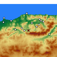 Nearby Forecast Locations - Boghni - Carte