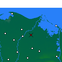 Nearby Forecast Locations - Dikirnis - Carte