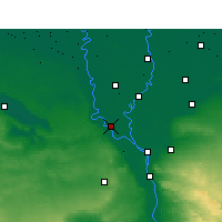 Nearby Forecast Locations - Ashmoun - Carte