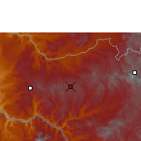 Nearby Forecast Locations - Aksoum - Carte