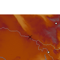 Nearby Forecast Locations - Tunduma - Carte