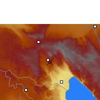 Nearby Forecast Locations - Tukuyu - Carte