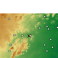 Nearby Forecast Locations - Vellore - Carte