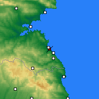 Nearby Forecast Locations - Lozenets - Carte