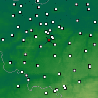 Nearby Forecast Locations - Ninove - Carte