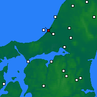 Nearby Forecast Locations - Blokhus - Carte