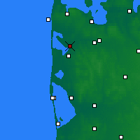 Nearby Forecast Locations - Vemb - Carte