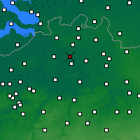 Nearby Forecast Locations - Zandhoven - Carte