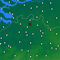 Nearby Forecast Locations - Rijkevorsel - Carte