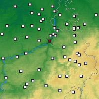 Nearby Forecast Locations - Herstal - Carte