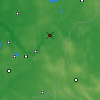 Nearby Forecast Locations - Nemenčinė - Carte