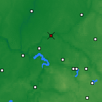 Nearby Forecast Locations - Jonava - Carte