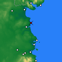Nearby Forecast Locations - Clogherhead - Carte