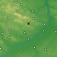 Nearby Forecast Locations - Iwaniska - Carte