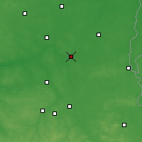 Nearby Forecast Locations - Parczew - Carte