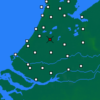 Nearby Forecast Locations - Alphen-sur-le-Rhin - Carte