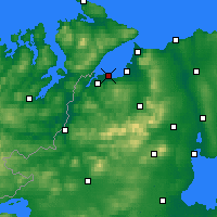 Nearby Forecast Locations - Derry - Carte