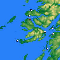 Nearby Forecast Locations - Tobermory - Carte