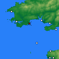 Nearby Forecast Locations - Tenby - Carte