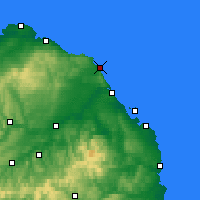 Nearby Forecast Locations - Eyemouth - Carte
