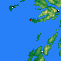 Nearby Forecast Locations - Iona - Carte
