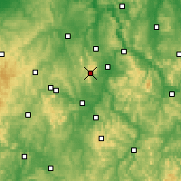 Nearby Forecast Locations - Schwelm - Carte