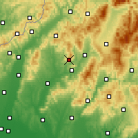 Nearby Forecast Locations - Cihoc - Carte