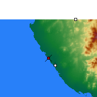Nearby Forecast Locations - Mastabah - Carte
