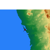 Nearby Forecast Locations - Rabigh - Carte