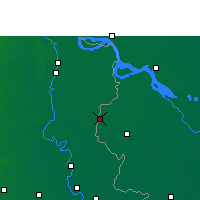 Nearby Forecast Locations - Meherpur - Carte