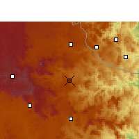 Nearby Forecast Locations - Dumbe - Carte